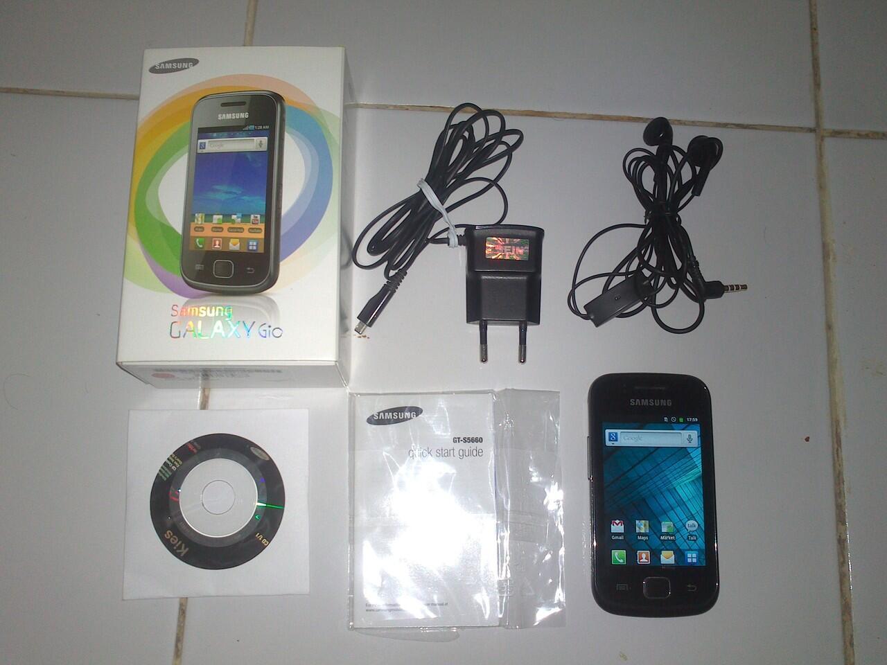 Djual Samsung Galaxy Gio GT-S5660 [MULUS]
