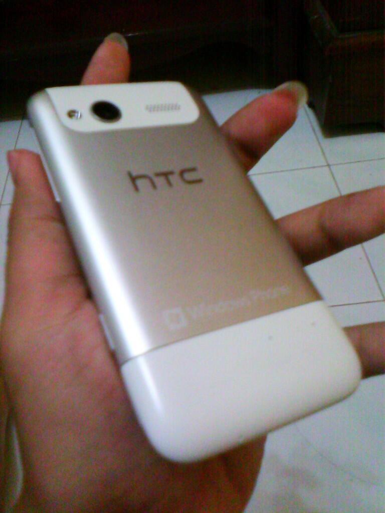 HTC Radar White Mulus 98% Belum Ada 1 Bulan