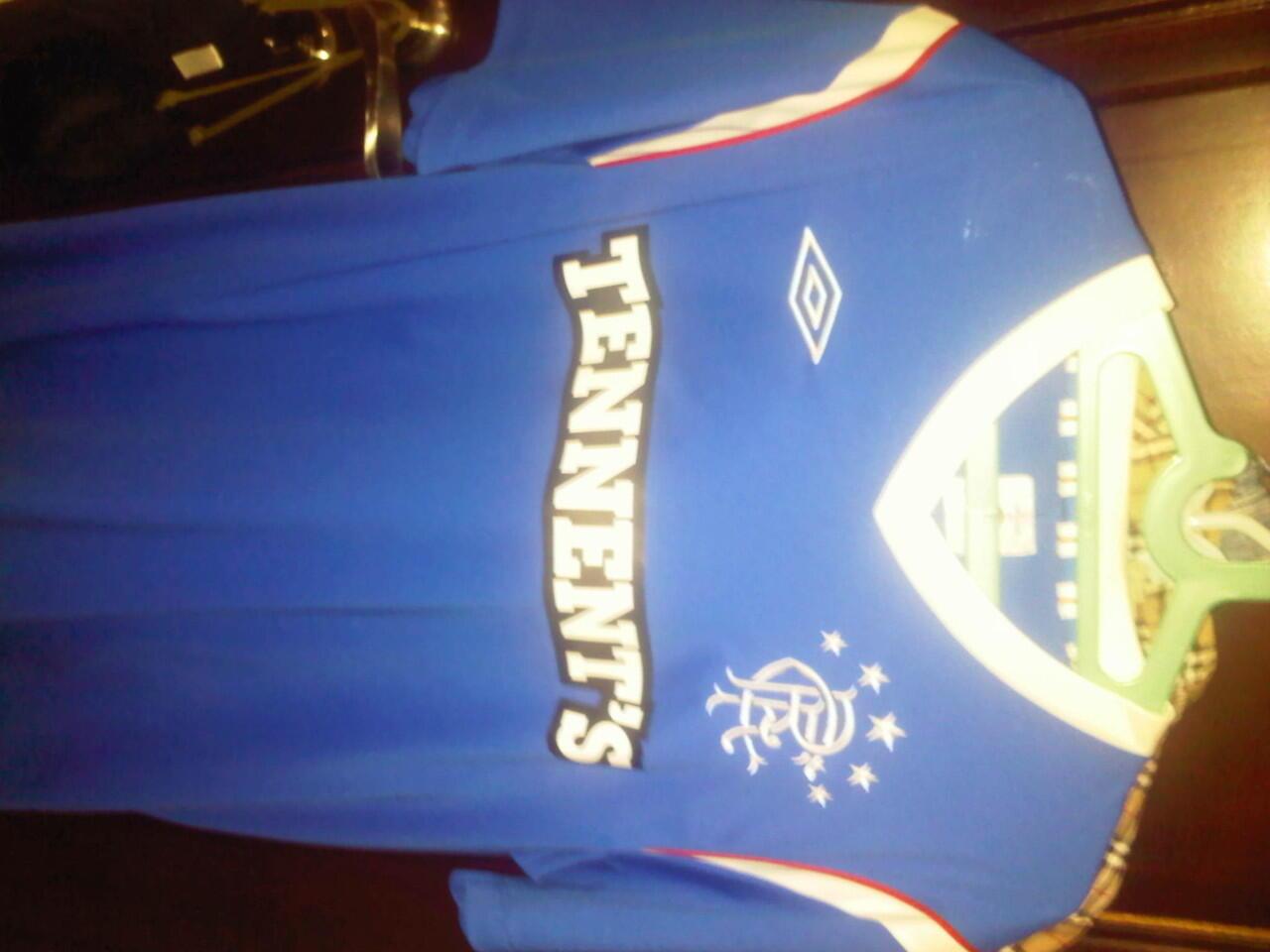 [WTS] Jersey Glasgow Rangers 11/12 sz. L Europe/ XL Asia