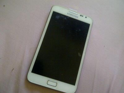 Galaxy Note 1 GT-N7000 White, Garansi Panjang (Solo)