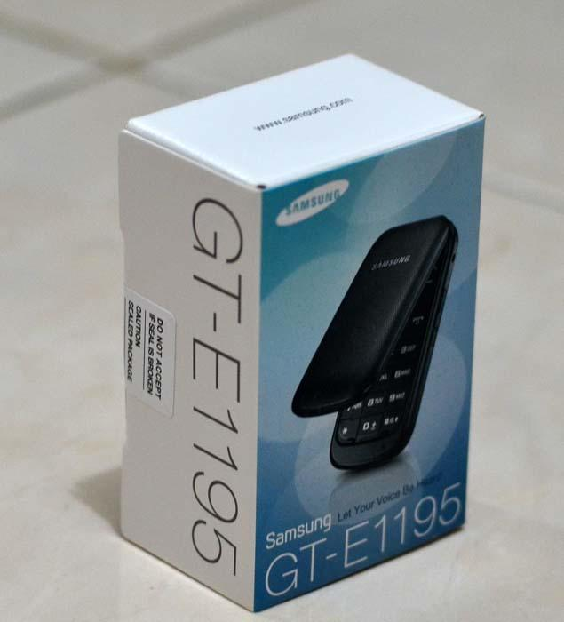 Jual Samsung GT-E1195 - Ruby Red
