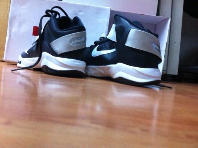 ##Sepatu Basket Nike LBJ Soldier sz12##