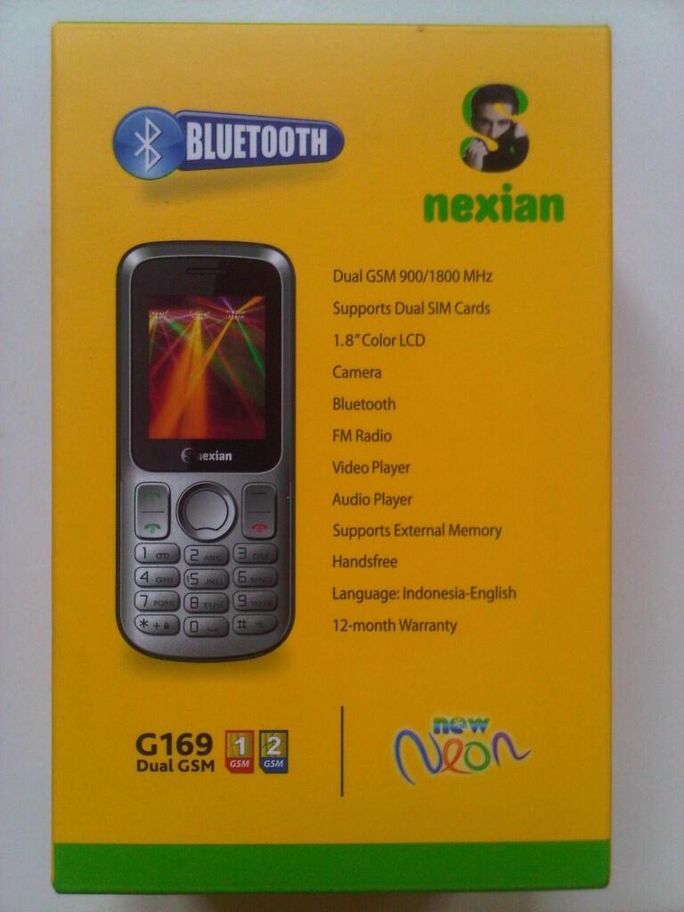 HP SNexian G168 dual sim murah!!