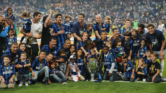 Lelang Jersey Inter Milan Final Madrid 2010