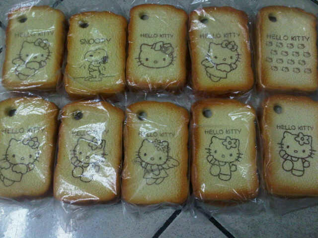 Jual silicon roti for Blackberry