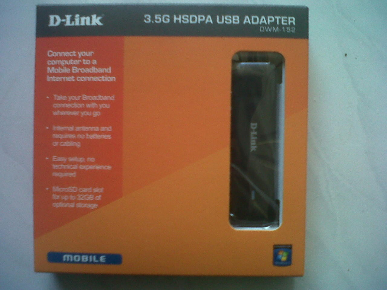 Modem D-Link HSDPA 3.5G DWM-152