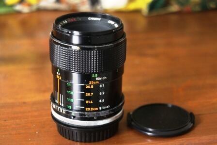 Jual Lensa Manual CANON 50mm f3.5 macro SSC