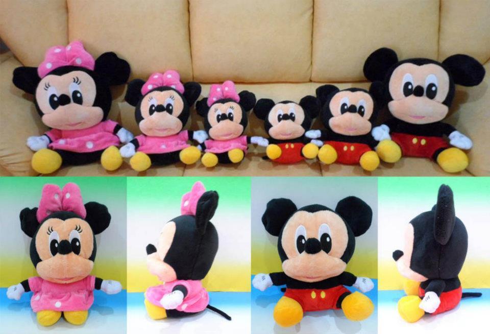 Terjual jual boneka mickey dan minnie murah meriah  3624a14b26