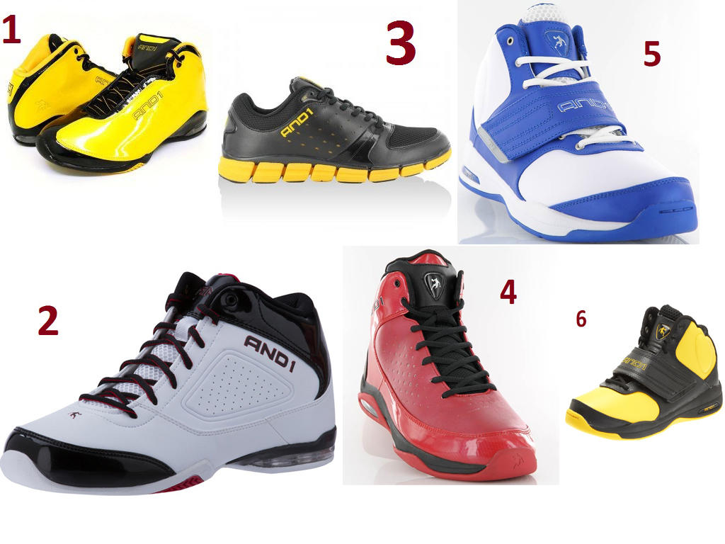 Sepatu Basket And1 Sale until the End of November 2012