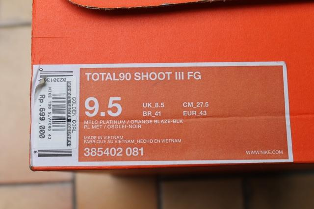 Nike Total90 Shoot III FG Football