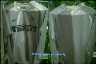 WTS JERSEY ORIGINAL INTER GK 06/07 LS SIZE S ADULT