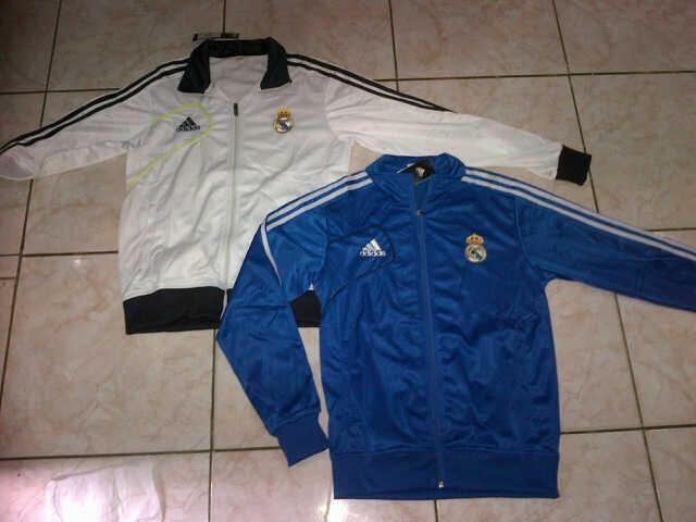 Jual Jaket Club Bola Barcelona,Man United,Real Madrid KW SUper harga murah meriah
