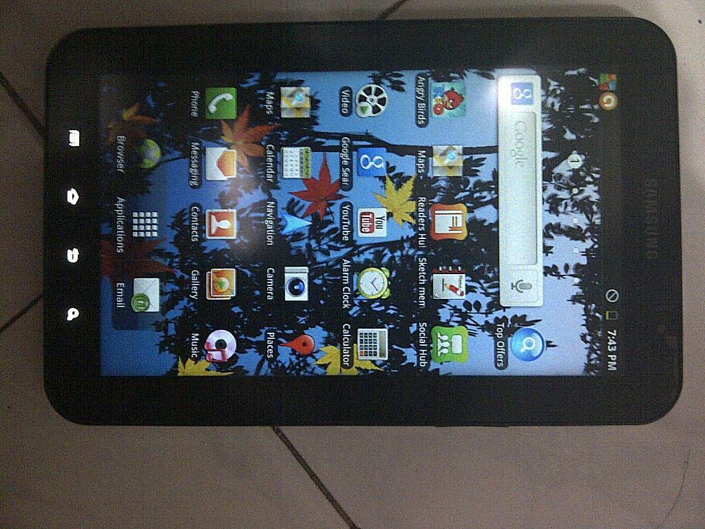 Samsung galaxy TAB P1000 mulus abis (Bandung)