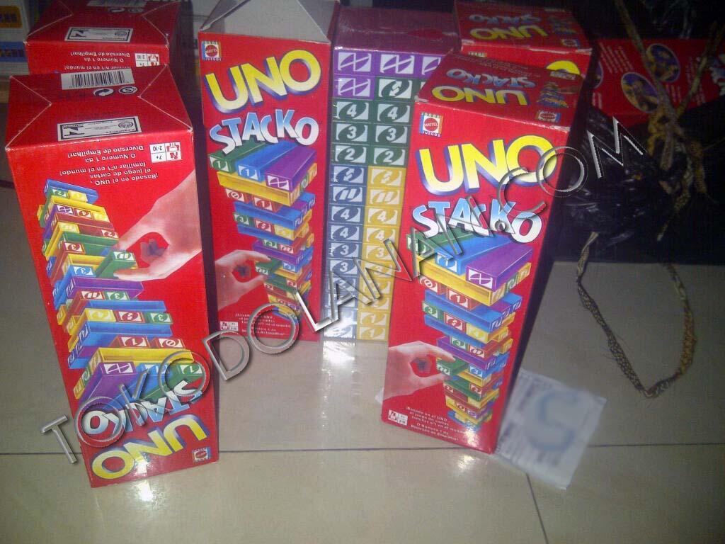 UNO STACKO and UNO CARD, murah meriah!!