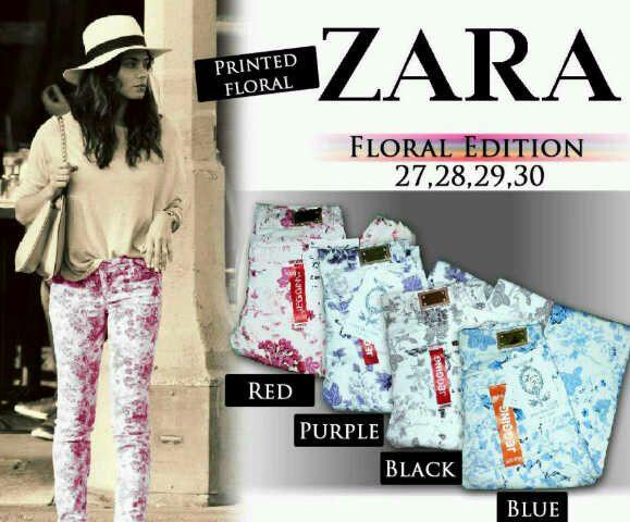ZARA FLORAL VERY VERY CHEAP GOOD QUALITY!!