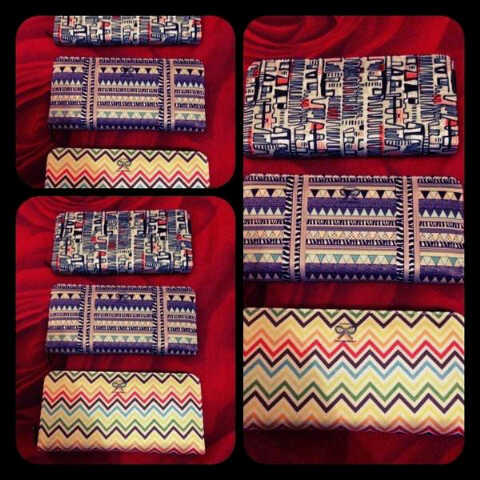 DOMPET TRIBAL MOTIF