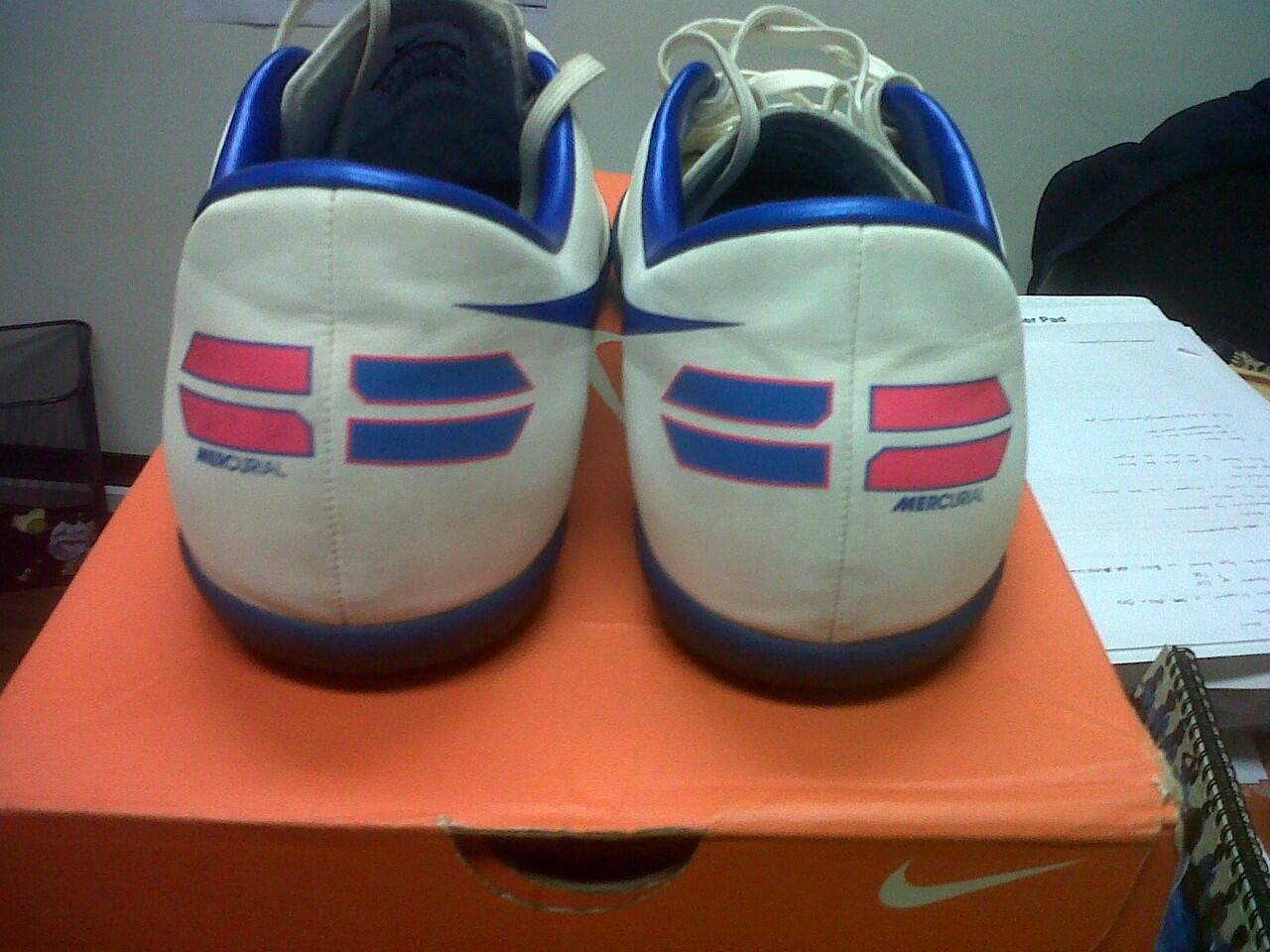 Jual Futsal Ori Nike Mercurial Victory III White Blue 42 obral gan