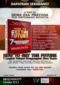 """Buku Motivasi """"How to get the future"""""""