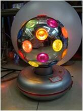 Barang unik, surabaya, Lampu disko, karaoke bulat, keren