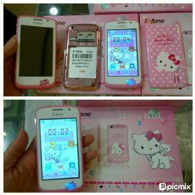HANDPHONE HELLO KITTY K-Fone murah lucu bagus