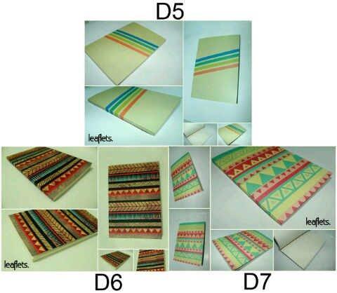 Leaflets Note Book (Buku Catatan) Request Design