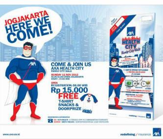 Jalan Sehat Axa Financial Indonesia