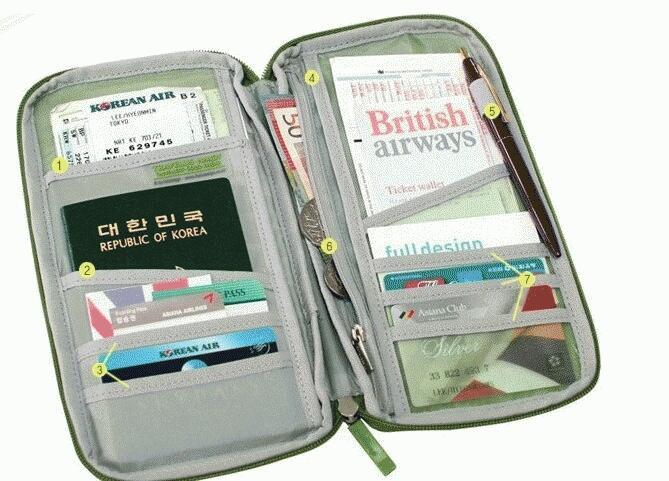 Passport Wallet, Ipad Bag, Card Case (isi 20card), Card Guard Aluminium