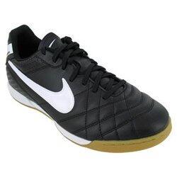 Sepatu Futsal Nike Tiempo 2nd (Black and White) size 40