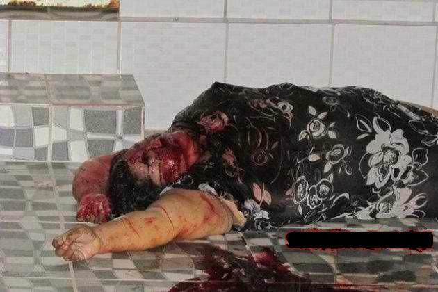Pembantunya tante onah tewas :berduka