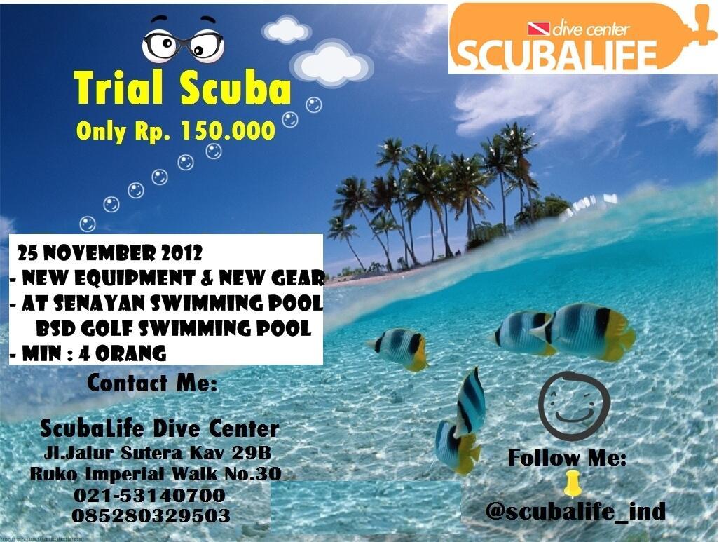 Paket Trial Diving Scubalife