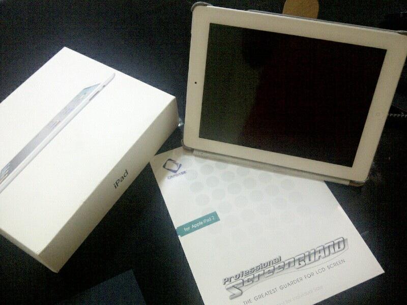 Jual IPAD 2 White 16GB 3G WIFI