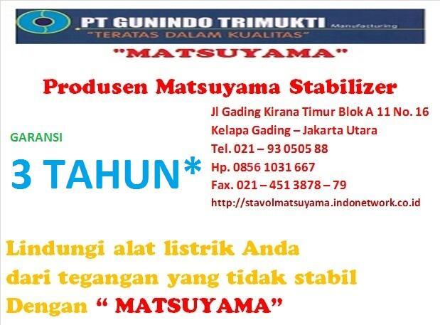 Distributor stavolt Matsuyama