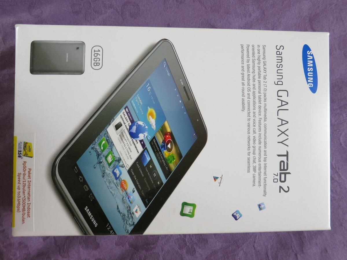 """Samsung Galaxy Tab 2 7"""" GT-P3100"""
