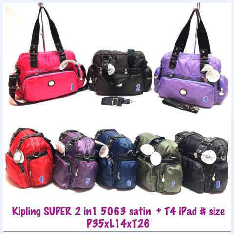 KIPLING SUPER KW 2in1 + tempat IPAD 5063