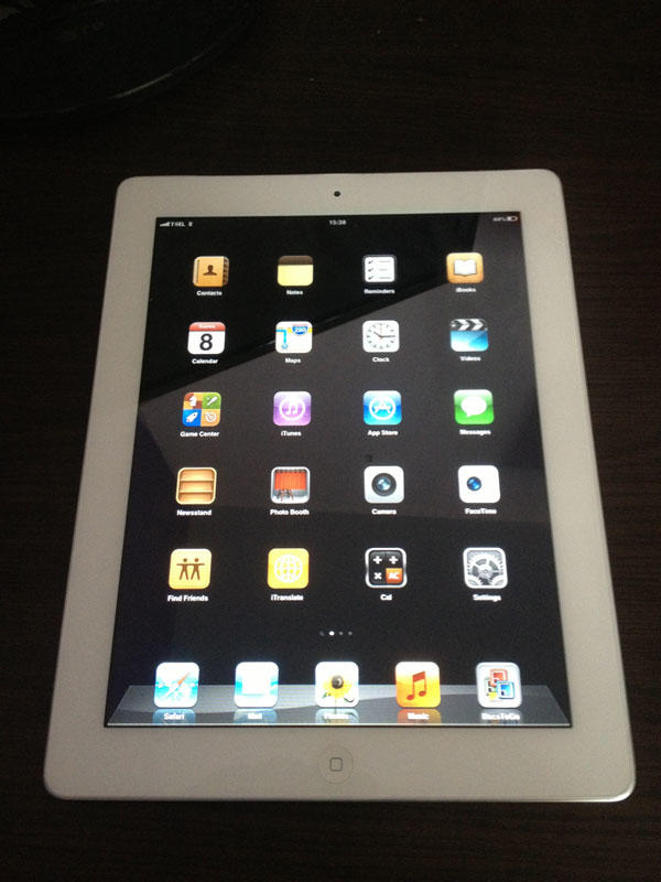 JUAL IPAD 2 WHITE 16GB 3G Wi-Fi