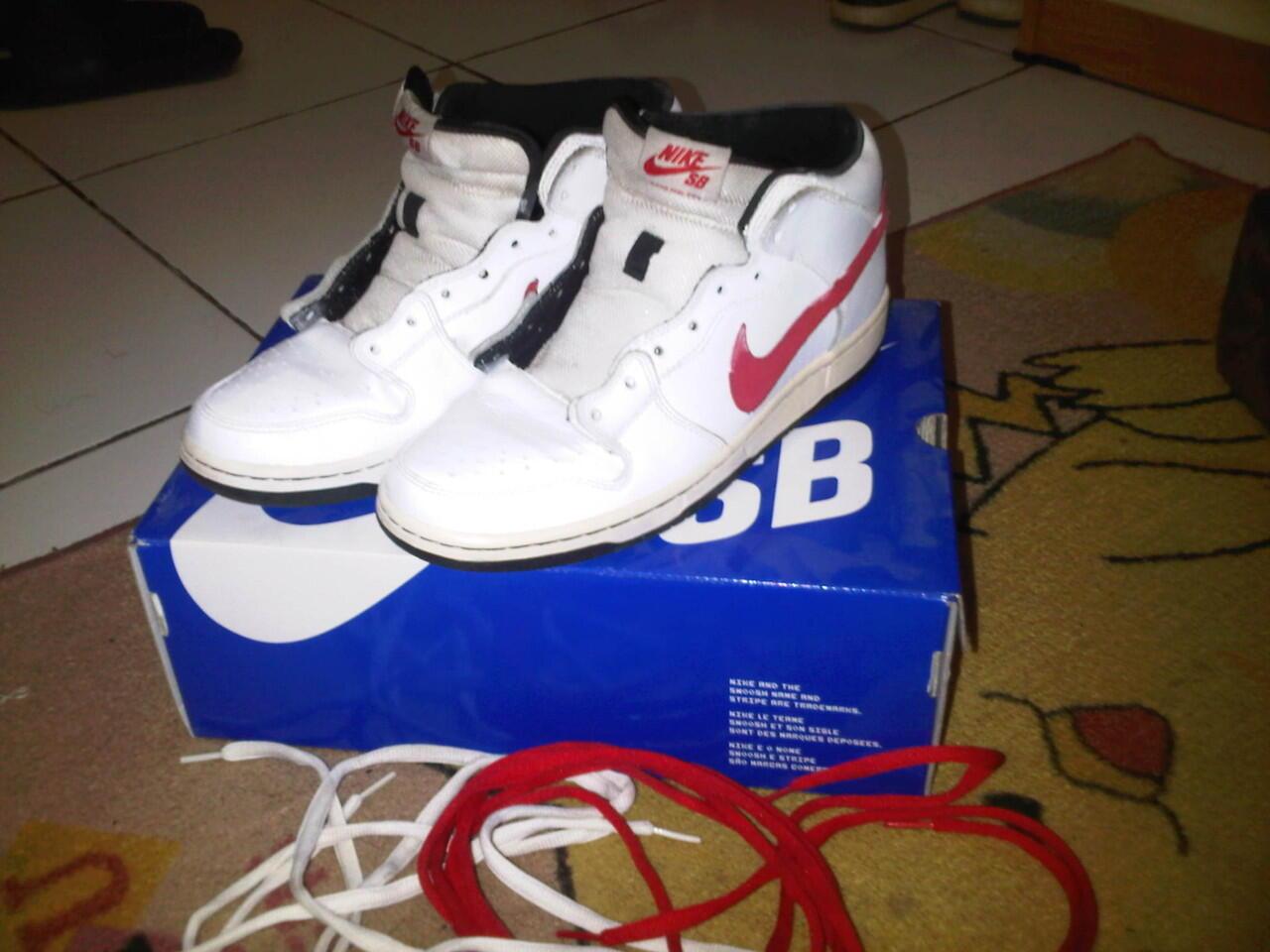 WTS Nike Dunk Mid Pro SB second Murah!!