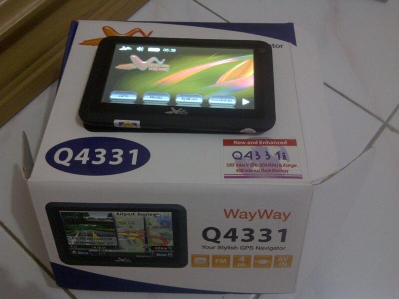 Dijual GPS Wayway Q4331