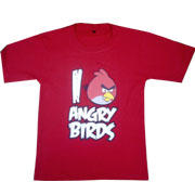 Kaos Angry Brids RED