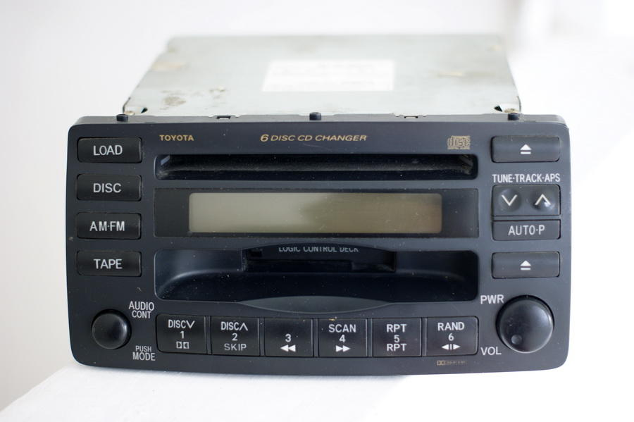 WTS Head Unit / Tape Mobil Bawaan Toyota Altis