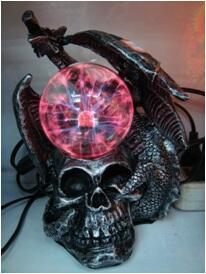 grosir china, lampu plasma, keren, lampu ramal