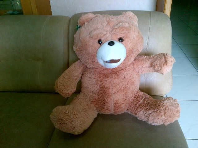 JUAL BONEKA TED (FILM TED) LAST STOCK MURMER