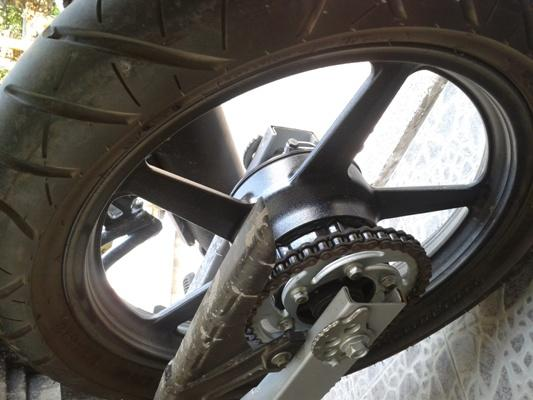 Jual Sepasang Velg Yamaha Vixion Orisinil