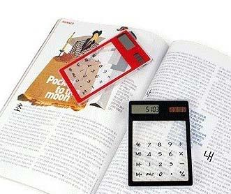 Calculator Tembus Pandang FREE (Gantungan kunci solar)