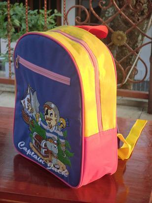Tas Backpack Bordir