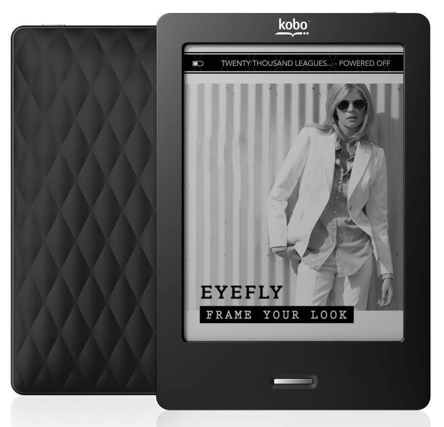 Jual Kobo Touch E-reader Hitam. Second. Kondisi 99,9%
