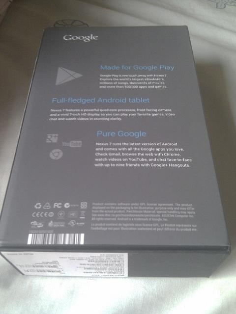 BNIB Asus Google Nexus 7 16GB