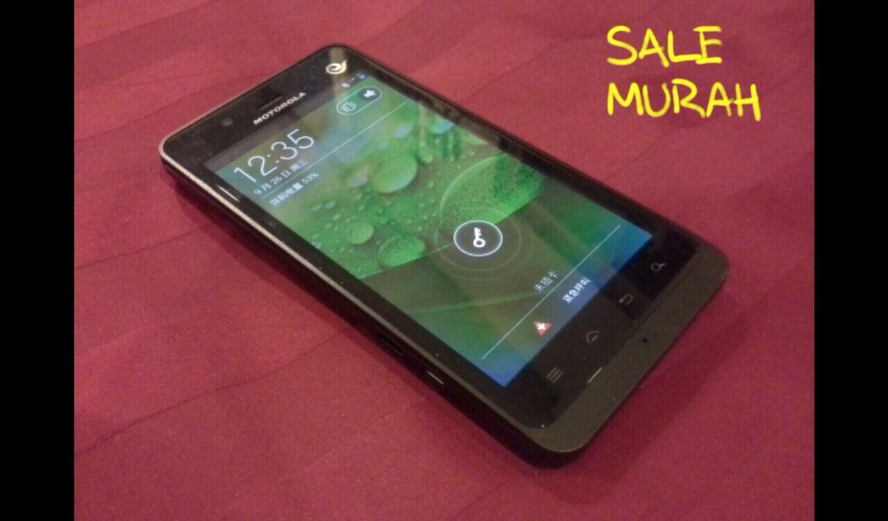 Motorola Android Dual On XT928 CDMA GSM Paling Murah Se-Kaskus