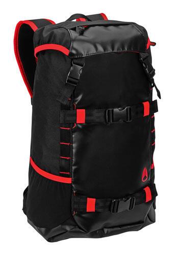 [LIMITED] NIXON Landlock Backpack Black - JAKSEL