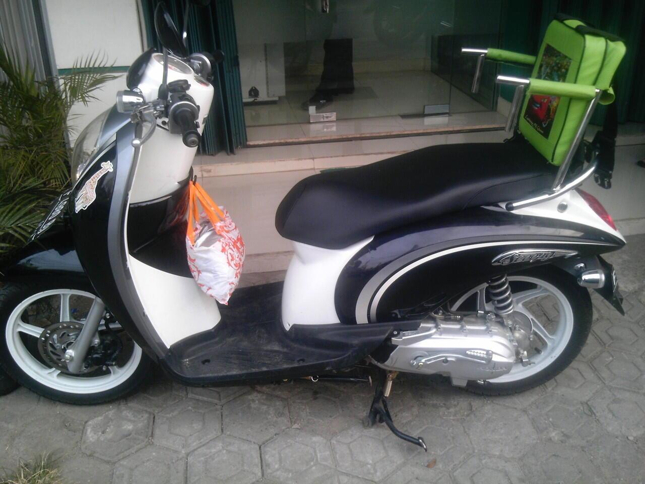 Kursi Sepeda Motor Anak (Kursi Boncengan Motor)