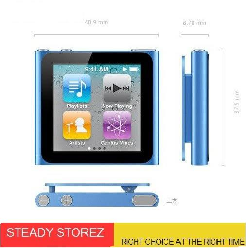 JUAL> IPOD NANO 6th replika SUPER GRADE A!